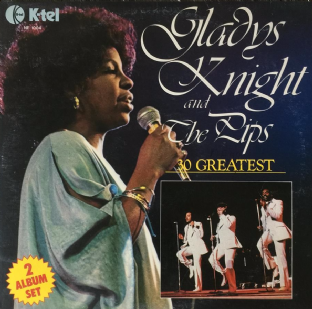 Gladys Knight & The Pips ‎- 30 Greatest (LP) (VG+/G+)